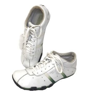 Diesel Evelyn Vintage Leather Shoes Size 8
